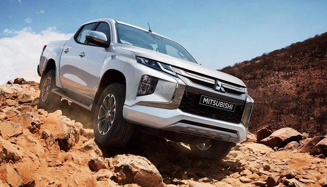 Bán Mitsubishi Triton đời 2019, màu xám (ghi), nhập khẩu Thái Lan, động cơ Diesel tiết kiệm nhiên liệu, giá tốt
