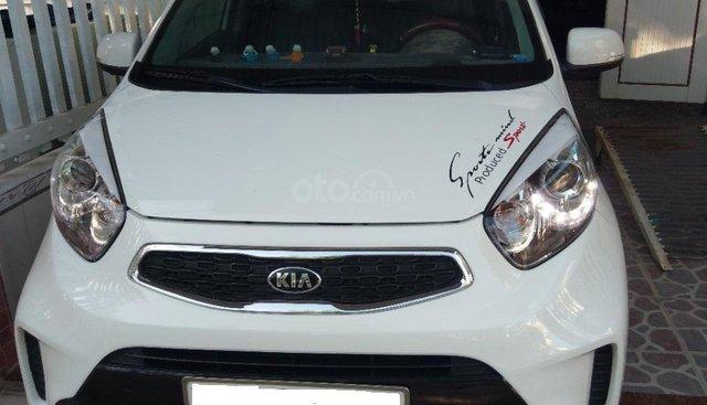 Cần bán xe Kia Morning 1.25 Si MT đời 2016, màu trắng, xe gia đình