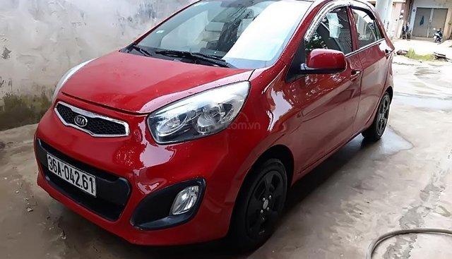 Cần bán xe Kia Morning EX năm 2013, màu đỏ, số sàn