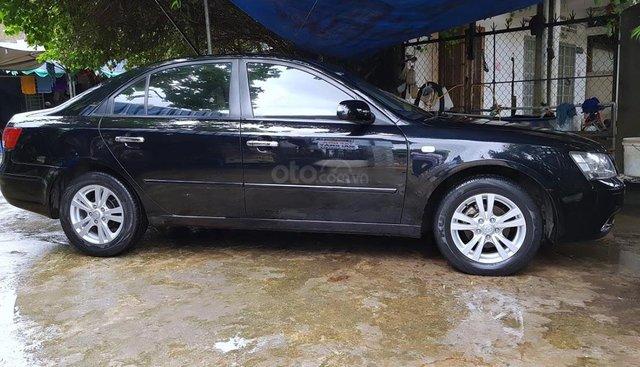Bán xe Hyundai Sonata 2.0MT 2009, màu đen, nhập khẩu