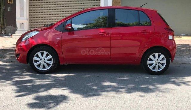Bán Toyota Yaris 1.5 AT 2011, màu đỏ, nhập khẩu Thái