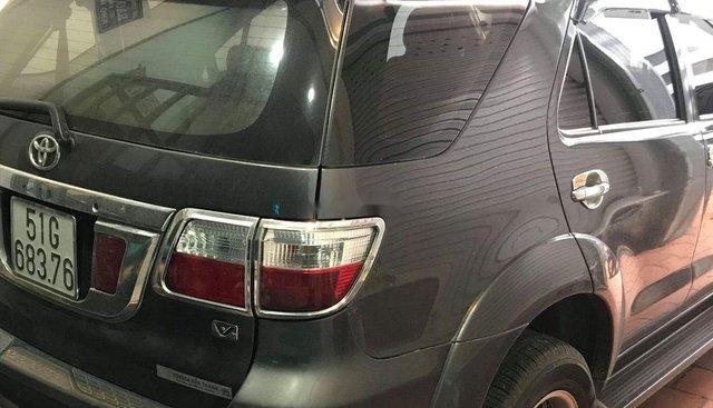 Bán Toyota Fortuner 2.7 2009, màu xám, xe gia đình