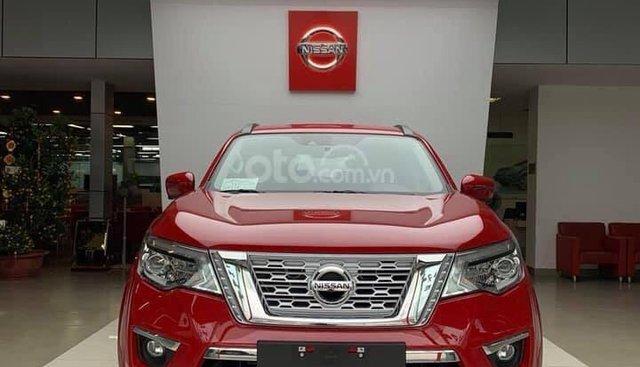 Bán ô tô Nissan Terra đời 2019, màu đỏ, nhập khẩu nguyên chiếc