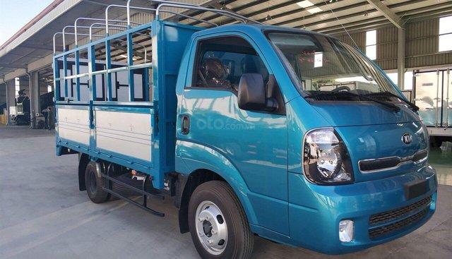 Kia K250 2,4 tấn màu xanh giá tốt, hỗ trợ trả góp đến 70% thủ tục đơn giản có xe sẵn giao xe ngay