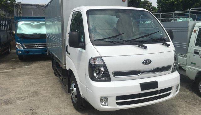 Thaco Kia K200 tải trọng  1990kg màu trắng giá 334 triệu hỗ tợ trả góp 70% có sẵn xe giao ngay