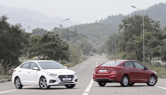Doanh số bán hàng xe Hyundai Accent tháng 5/2020