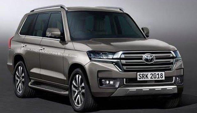 Giá lăn bánh xe Toyota Land Cruiser 2020 mới nhất