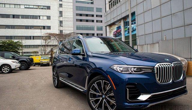 Ảnh chi tiết xe BMW X7 2020 giá hơn 7 tỷ đồng tại Việt Nam