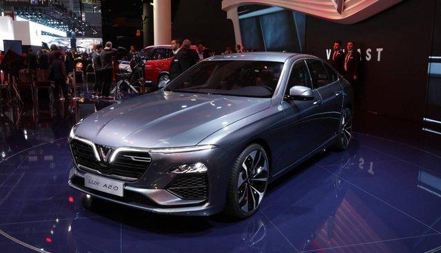 Doanh số bán hàng xe VinFast LUX A2.0 tháng 5/2020