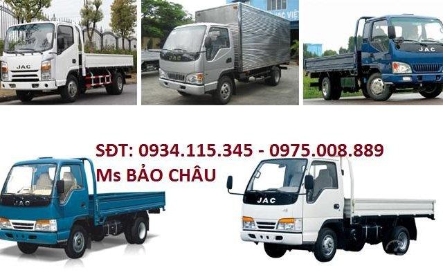 Bán trả góp xe tải Jac, công ty bán xe tải Jac 6 tấn 40