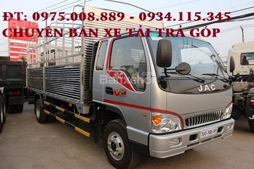 Bán xe tải JAC 8T4 * 8 tấn 4 * 8.4 tấn * 8.4 T máy Isuzu- JAC 8.4 tấn- xe tải JAC 8T4 trả góp2