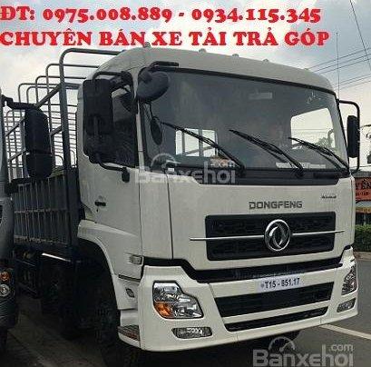 Bán Dongfeng L315 Hoàng Huy (17 tấn 9) đời 2016+ màu trắng+ nhập khẩu nguyên chiếc0