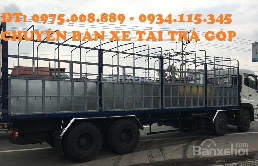 Bán Dongfeng L315 Hoàng Huy (17 tấn 9) đời 2016+ màu trắng+ nhập khẩu nguyên chiếc3