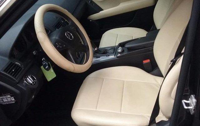 Cần bán xe Mercedes C200K Avantgarde đời 2008, màu đen, nhập