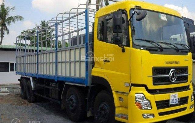 Cần bán xe tải Dongfeng L315 (17.9 tấn) xe mới 2018, màu vàng, xe nhập