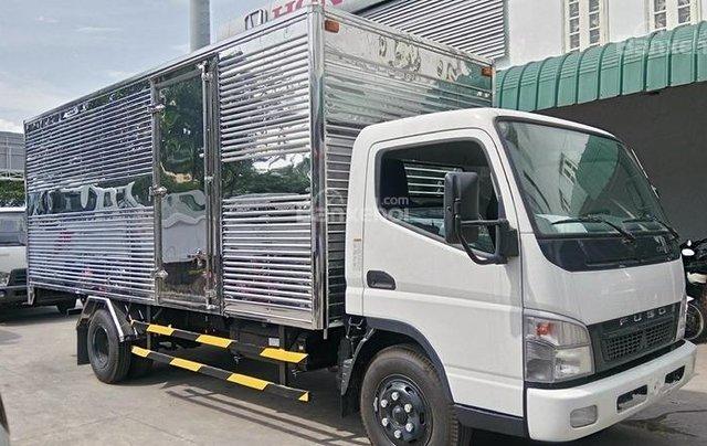 Bán xe Fuso Canter 5T - thùng bạt, sản xuất 2017 giao ngay1