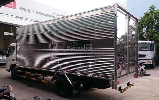 Bán xe Fuso Canter 5T - thùng bạt, sản xuất 2017 giao ngay2