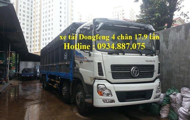 Bán xe tải Dongfeng 4 chân 17.9 tấn – xe tải Dongfeng Trường Giang 4 chân 17.9 tấn0