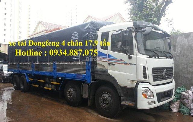 Bán xe tải Dongfeng 4 chân 17.9 tấn – xe tải Dongfeng Trường Giang 4 chân 17.9 tấn1
