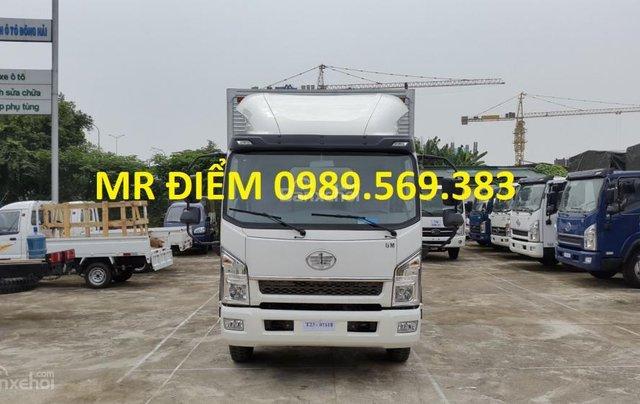 Bán FAW tải thùng 7.25 tấn, nhập khẩu, khuyến mãi dầu và thuế0