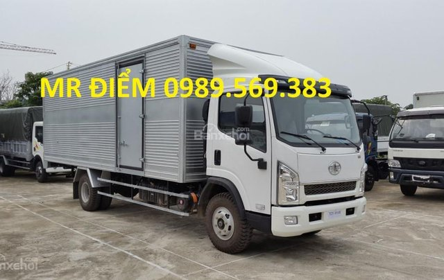 Bán FAW tải thùng 7.25 tấn, nhập khẩu, khuyến mãi dầu và thuế1