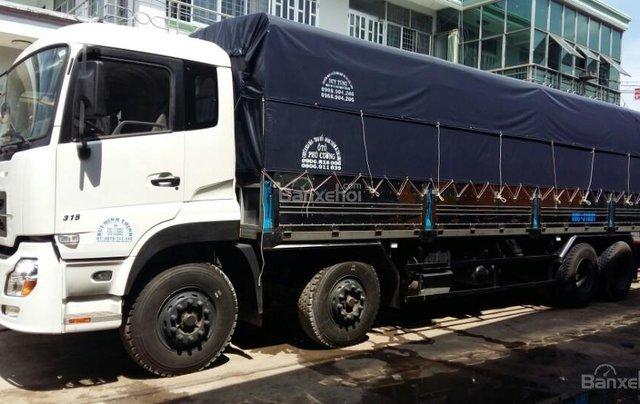 Báo giá xe tải Dongfeng Hoàng Huy 4 chân 17.9 tấn, giá tốt nhất, trả góp0