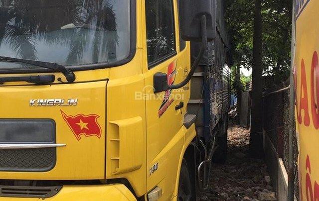 Bán xe trả góp Dongfeng Hoàng Huy 4 chân đời 2014 đã qua sử dụng, tổng tải 30 tấn, tải trọng 17.9 tấn0