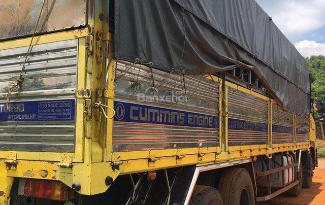 Bán xe trả góp Dongfeng Hoàng Huy 4 chân đời 2014 đã qua sử dụng, tổng tải 30 tấn, tải trọng 17.9 tấn1