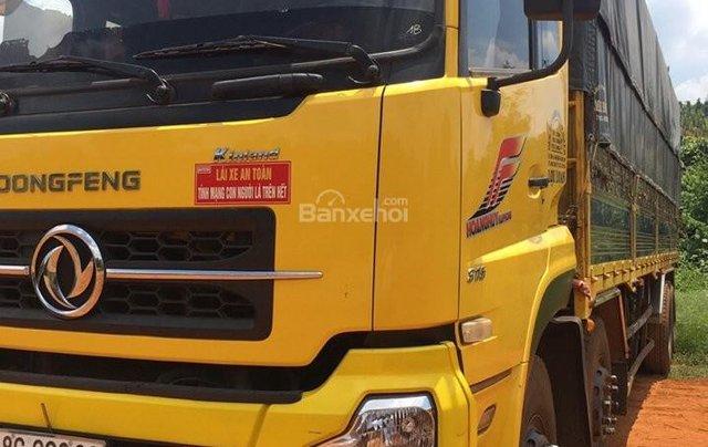 Bán xe trả góp Dongfeng Hoàng Huy 4 chân đời 2014 đã qua sử dụng, tổng tải 30 tấn, tải trọng 17.9 tấn2