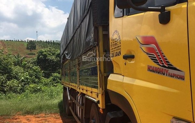 Bán xe trả góp Dongfeng Hoàng Huy 4 chân đời 2014 đã qua sử dụng, tổng tải 30 tấn, tải trọng 17.9 tấn4