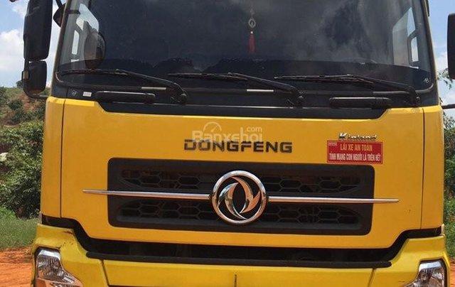 Bán xe trả góp Dongfeng Hoàng Huy 4 chân đời 2014 đã qua sử dụng, tổng tải 30 tấn, tải trọng 17.9 tấn3