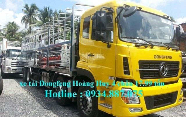 Bán xe tải Dongfeng Hoàng Huy 4 chân 17.99 tấn mới nhất – xe tải Dongfeng 4 chân YC3100