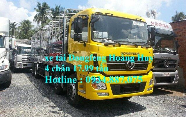 Bán xe tải Dongfeng Hoàng Huy 4 chân 17.99 tấn mới nhất – xe tải Dongfeng 4 chân YC3101