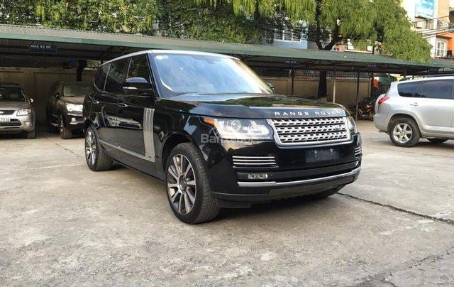 Range Rover Autobiography LWB 5.0 đời 2014, màu đen, xe nhập Mỹ2