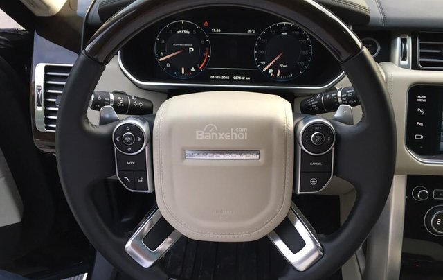 Range Rover Autobiography LWB 5.0 đời 2014, màu đen, xe nhập Mỹ10