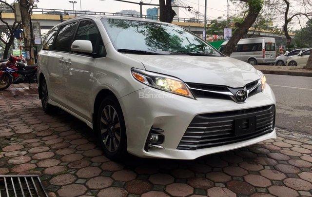 Cần bán Toyota Sienna Limited đời 2018, màu trắng, nhập Mỹ1
