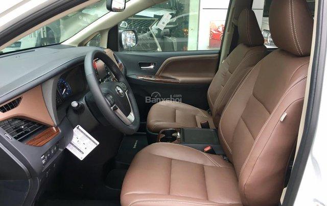 Cần bán Toyota Sienna Limited đời 2018, màu trắng, nhập Mỹ8