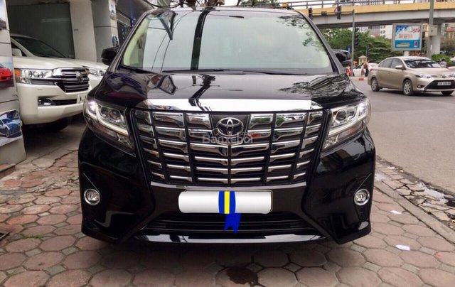 Cần bán xe Toyota Alphard Limited, màu đen, đã qua sử dụng như mới giá tốt LH: 0982.84.28380