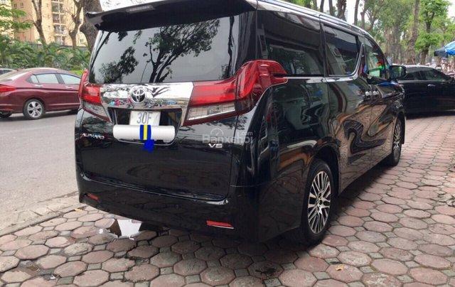 Cần bán xe Toyota Alphard Limited, màu đen, đã qua sử dụng như mới giá tốt LH: 0982.84.28385