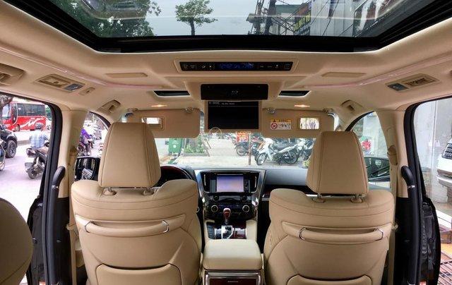 Cần bán xe Toyota Alphard Limited, màu đen, đã qua sử dụng như mới giá tốt LH: 0982.84.283818