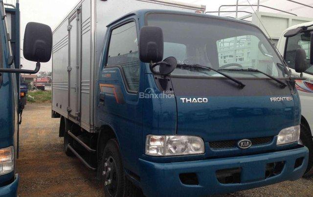 Bán xe tải Kia K165 tải trọng 2,4 tấn, thùng mui bạt, thủ tục nhanh chóng1
