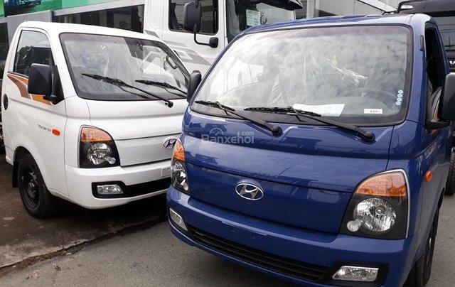 Bán Hyundai Porter mui bạt inox, tải 1.5 tấn, đời 2020, màu xanh lam, nhập khẩu0
