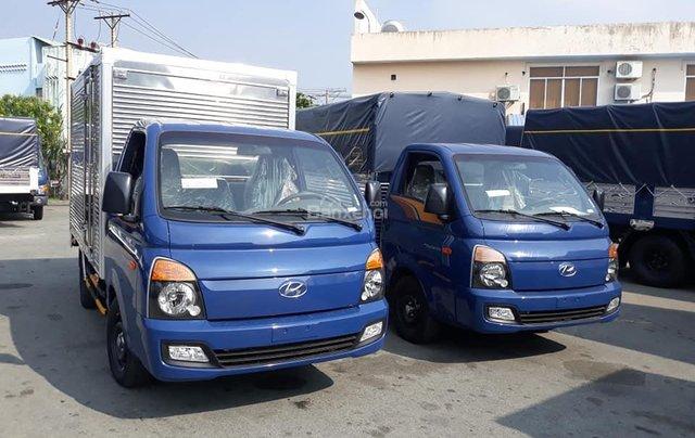 Bán Hyundai Porter mui bạt inox, tải 1.5 tấn, đời 2020, màu xanh lam, nhập khẩu5