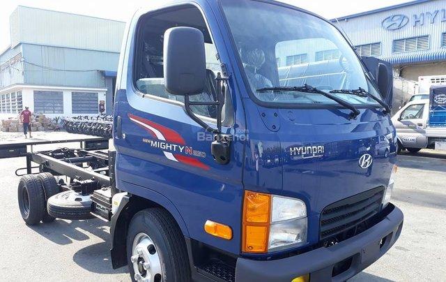 Bán xe Hyundai New Mighty N250 vào TP 2019, màu xanh lam, nhập khẩu0