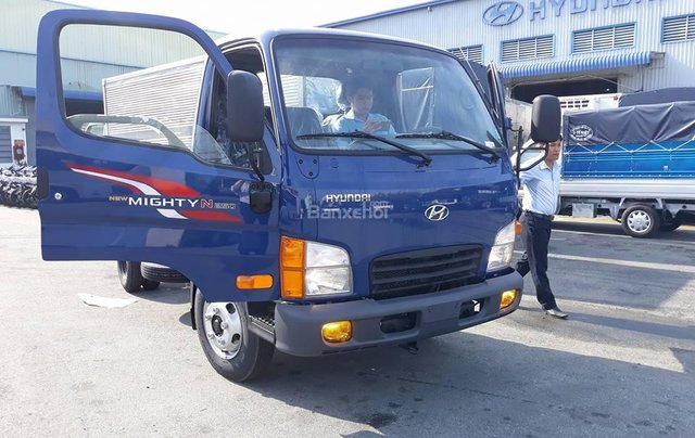 Bán xe Hyundai New Mighty N250 vào TP 2018, màu xanh lam, nhập khẩu2