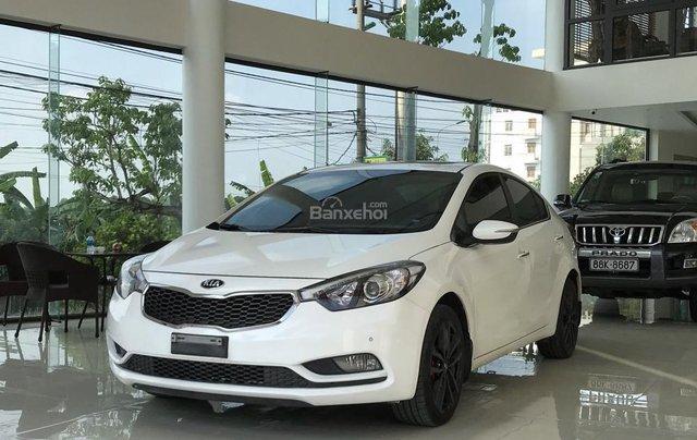 Cần bán Kia K3 1.6 đời 2016, màu trắng rất mới1
