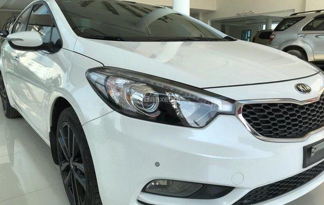 Cần bán Kia K3 1.6 đời 2016, màu trắng rất mới2