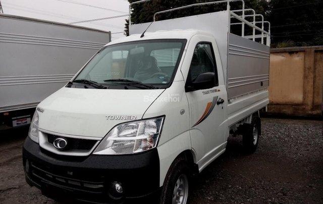 Cần bán xe tải nhỏ Thaco Towner 2019, máy xăng, số sàn, màu trắng - Giao nhanh toàn quốc0