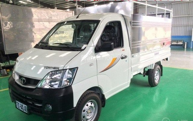 Cần bán xe tải nhỏ Thaco Towner 2019, máy xăng, số sàn, màu trắng - Giao nhanh toàn quốc5