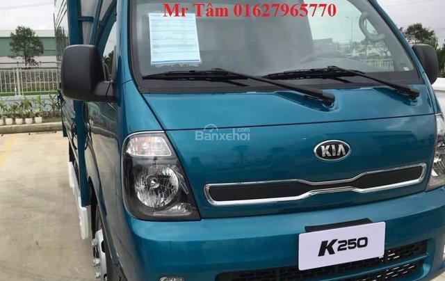 Bán xe tải K250 tải trọng 2 tấn 4, động cơ Hyundai D4CB, phun dầu điện tử, sẵn sàng giao xe ngay0